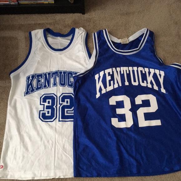 new product 143c7 6f3dd Vintage Kentucky Basketball Jerseys